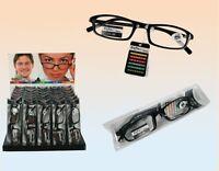 3x Lesebrillen Lesehilfe Brillen Sehhilfe Lesebrille Augenoptik Schwarz NEU**