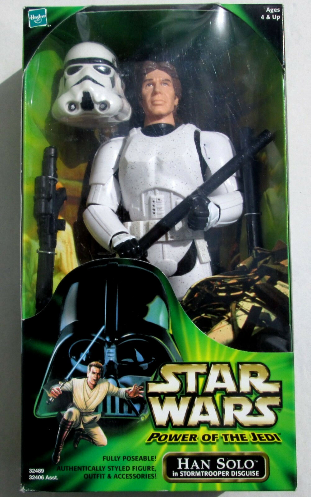STAR STAR STAR WARS Power of the Jedi_HAN SOLO in STORMTROOPER Disguise 12  figure_New_MIB b5d17a
