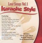 Karaoke Style: Love Songs, Vol. 1 by Karaoke (CD, Jul-2003, Daywind)