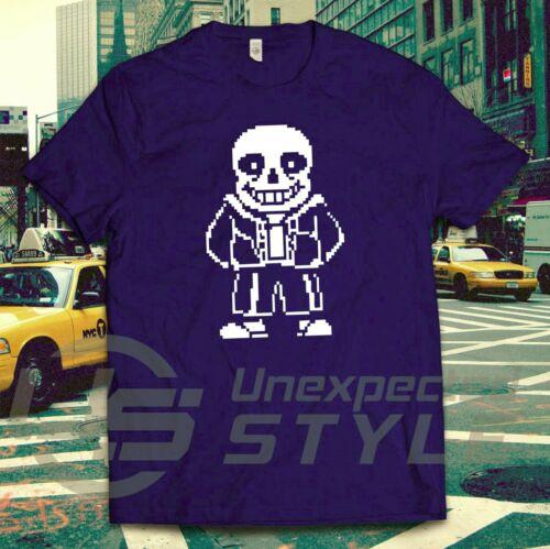 Undertale Inspiriert T-Shirt Sans Skellington Spielen Twitch Steam T-Shirt
