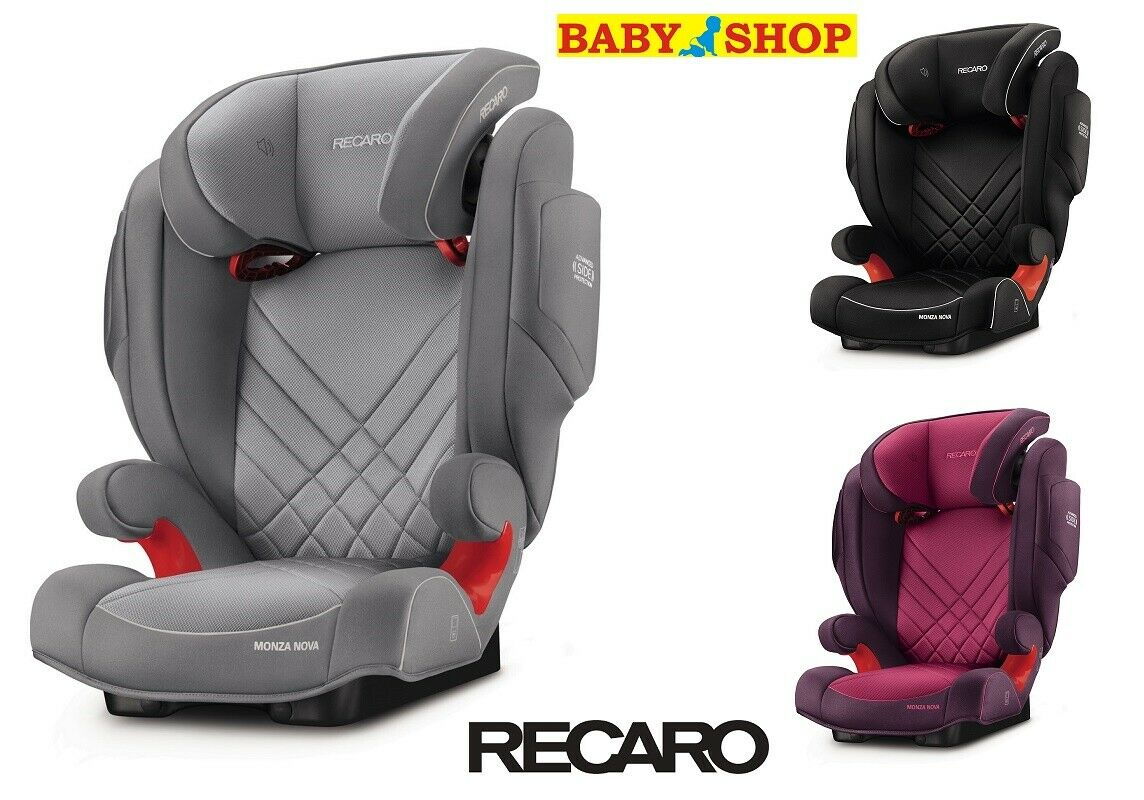 Recaro Racing Car Seat >> Car Seat Recaro Monza Nova 2 Seatfix Isofix Group 2 3 15 36 Kg Front Facing