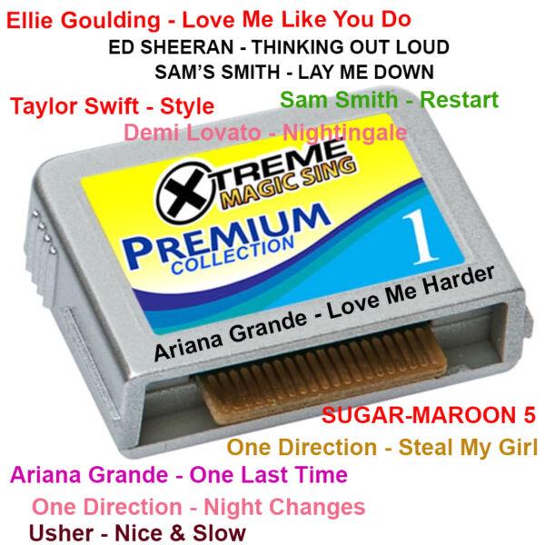 300 Songs Tagalog English Magic Sing Karaoke Mic For Et Models Premium Selection