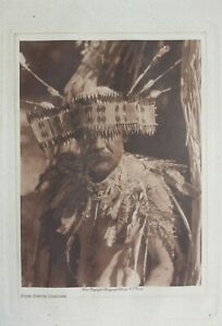 Man-in-Pomo-Dance-Costume-By-Edward-Sheriff-Curtis-1924-Photogravure