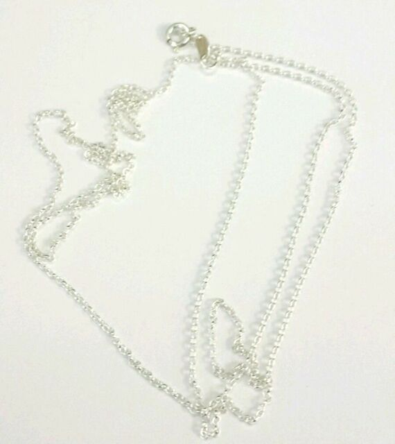 095d7d80b4a Sterling Silver 925 Belcher Necklace Chain 36 Inch Long for sale ...