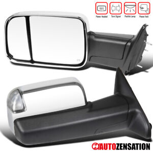13-17-Ram-Pair-Power-Fold-Heated-Tow-Mirrors-w-Temper-Sensor-LED-Signal-Puddle