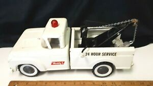 1963-BUDDY-L-24-Hr-Service-Tow-Truck-Nice-Solid-Original-Condition-US