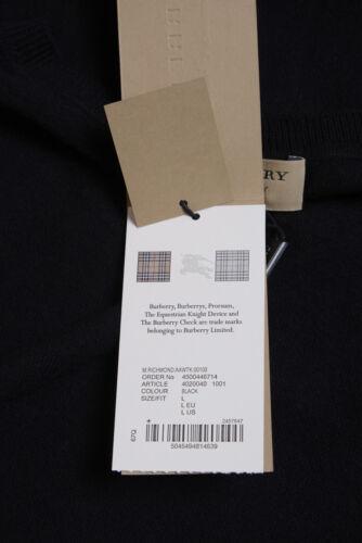Cotone Sweater Maglia Uomo Richmond Maglione Burberry Nero Pullover 4020040 qwTnE4XT