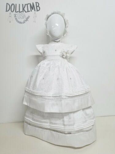 Romper for christening Ropones de niÑa para bautizo Blanco o beich GIRL WHITE
