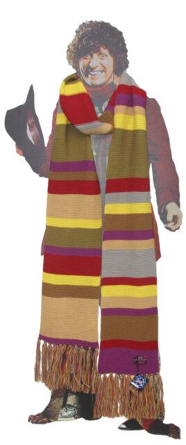 DW Tom Baker 7 Foot Long Striped Scarf