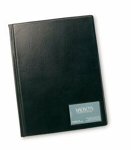 Rapesco-Display-Book-Hardback-A4-12-Clear-Pockets-DKA412B2