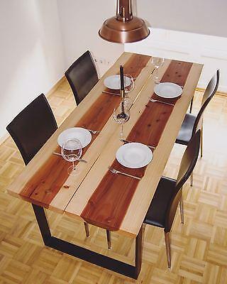 Sporting Edelholz Drechselholz Tischplatte Tisch Red Wood Mammutbaum 30/50/65mm Stark