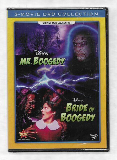 MR BOOGEDY & BRIDE OF BOOGEDY Richard Masur NEW R1 Disney Movie Club
