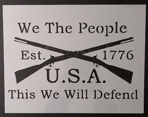 Details about We The People 1776 Crossed Rifles 11