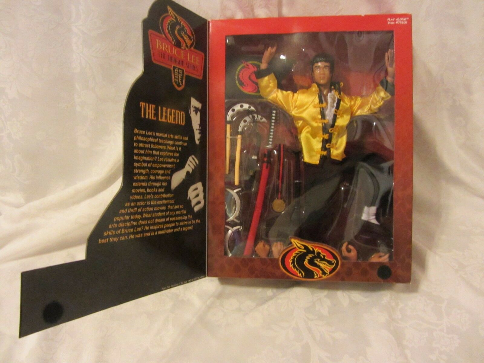 2000 PLAY ALONG BRUCE LEE THE DRAGON SERIES  THE THE THE LEGEND  12 IN NIB 8f7110