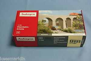 Auhagen-11-344-Arched-stone-Viaduct-Un-build-KIT-HO