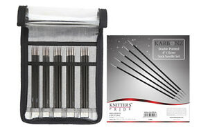 "Knitter's Pride Karbonz Double Pointed 6"" Sock Needle Set"
