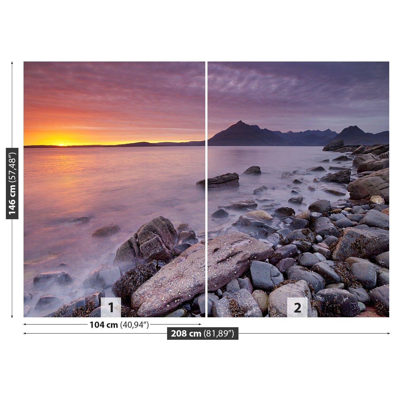 Fototapete Selbstklebend Einfach Einfach Einfach ablösbar Mehrfach klebbar Strand Schottland 48e210