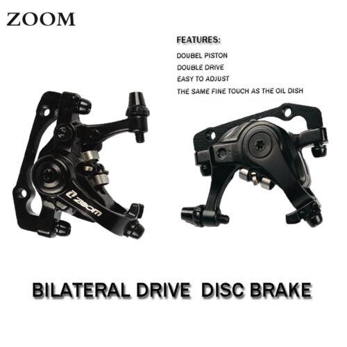 MTB Bike Mechanical Disc Brake Front Rear Caliper 140//160//180//203mm 6 Bolt Rotor
