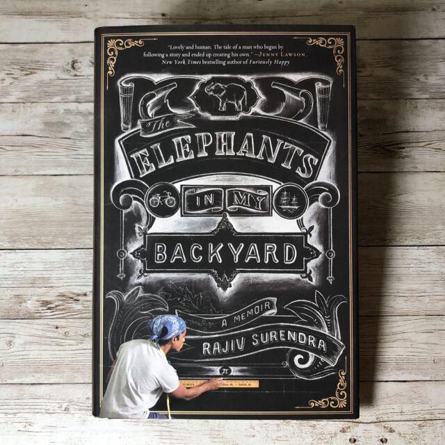 Elephants in My Backyard: A Memoir Rajiv Surenda Hardcover Book Mean Girls