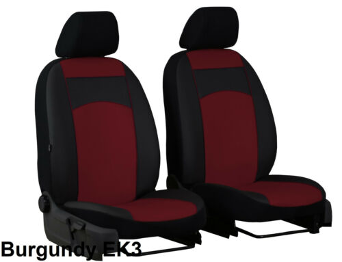 VW CRAFTER 2006 ONWARDS ECO LEATHER 1+1 TAILORED SEAT COVERS MADE TO MEASURE