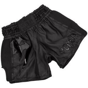 Venum Giant Lightweight Muay Thai Shorts - Black/Black