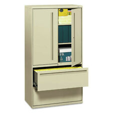 Hon 785lsl 700 Series 36 In 2 Drawer3 Shelf Lateral File Cabinet Putty New