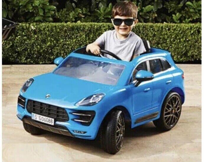 Kids Ride On Porsche Macan Turbo Brand New In Box RRP  300