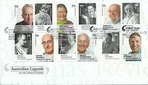 2010-Legends-of-Word-3-x-4-Blocks-of-4-FDI-Melbourne-Vic-21-Jan-2010-as-Issued
