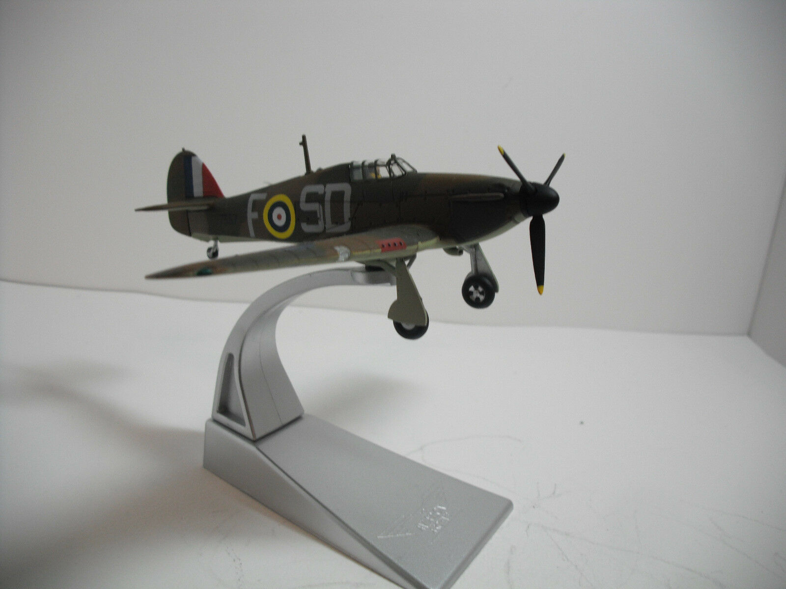Corgi Toys RAF Hawker Hurricane Mk1 Battle of Britain Fighter WWll  1 72 DIECAST