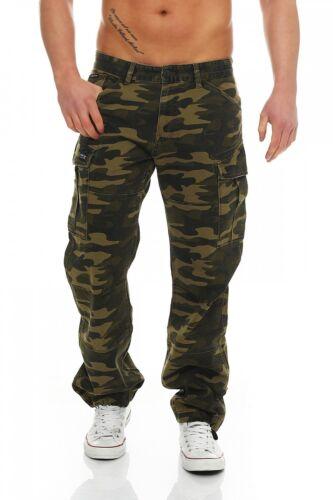 Big Brian Hose Herren Green Jeans Camouflage Seven Cargo Comfort Fit r75wAqrxn