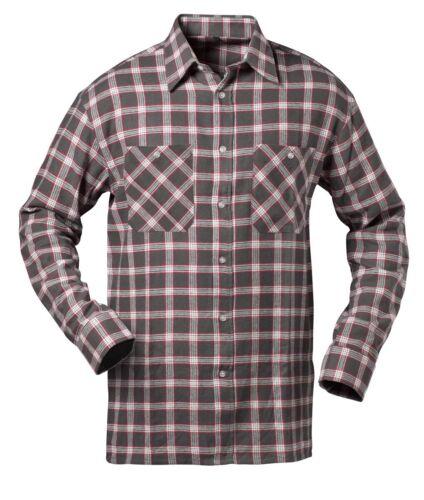 Flanell Hemd Flanellhemd Holzfäller Hemd Baumwolle Karohemd Arbeitshemd