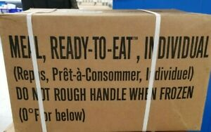 US Military MRE Meal Ready to Eat *12 Meals* 2022 Inspection Choose Case A or B