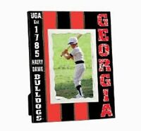 Georgia Bulldogs Collegiate Licensed Wooden Photo Picture Frame 4 X 6