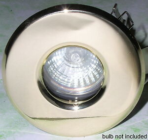 FIXED-DOWNLIGHTS-brass-effect-die-cast-shower-bathroom-light-MR16-fit-IP54