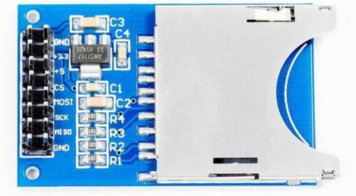 SD Karten Modul Breakout Board SDI für Arduino Raspberry Pi Mikrocontroller Neu