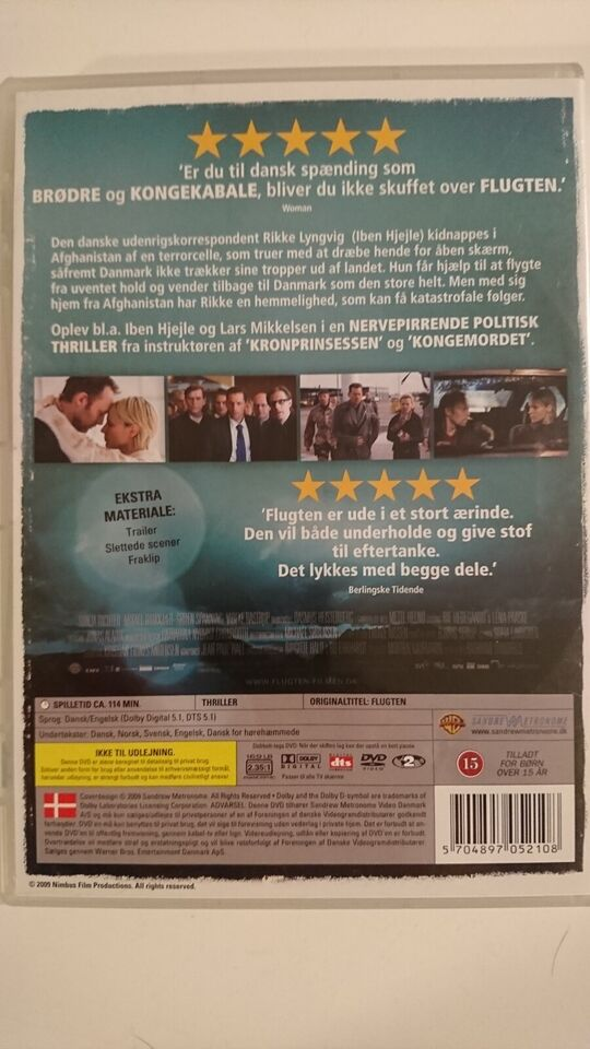 Flugten, instruktør Kathrine Windfeld, DVD