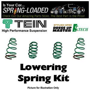 TEIN-S-TECH-LOWERING-SPRINGS-KIT-17F-16R-mm-for-HONDA-S2000-2-0-AP1-2000-2003