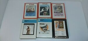 Lot-Of-6-New-Sealed-8-Track-Tapes-Groucho-Ray-Conniff-The-Statler-Brothers-Trac