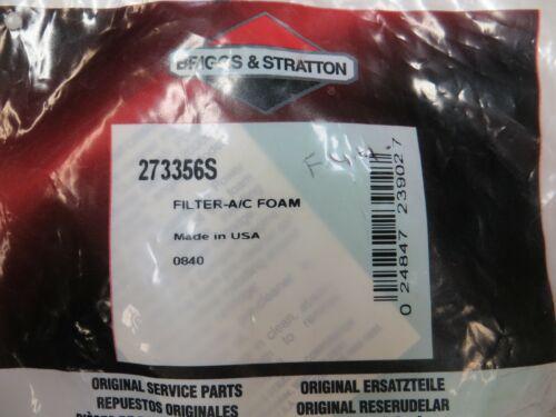 Filtro dell/'Aria Pre Pulitore Schiuma Wrap 273356S 273356 Briggs /& Stratton Genuine NEW