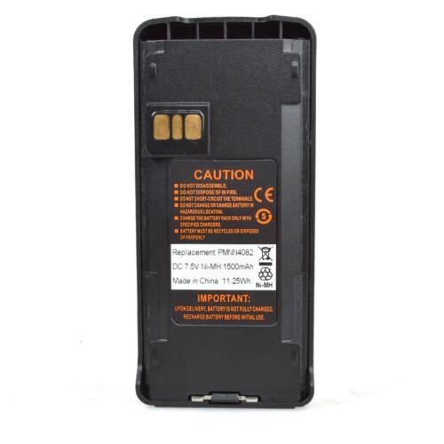 5x PMNN4082 Battery for Motorola CP185 P140 P145 P180 P185 CP476 Portable Radio