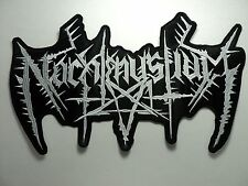 nachtmystium  EMBROIDERED BACK PATCH