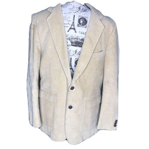 Di Benedetto Comtempory Clothing Cordoroy Blazer J
