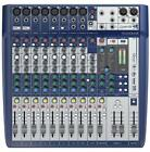 Soundcraft Signature 12 Channel Premium Compact Analog Mixer Console
