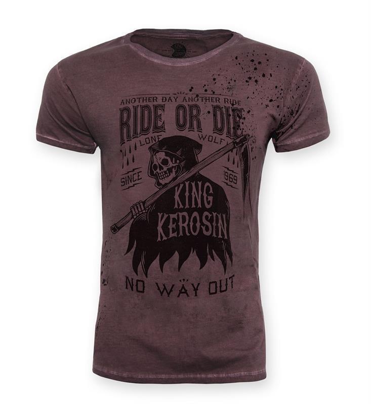 King Kerosin T-Shirt Shirt Mechanic No way Out Herren