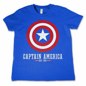 Marvel Captain America Shield T-Shirt Bambino
