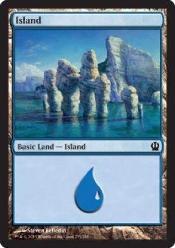 4 x Island - Theros Magic the Gathering MTG Basic Land 235//249