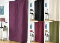 Embossed Thermal Door Curtain Panel, Energy Saving Curtains, 117x 213 cm