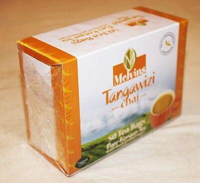 KENYA TEA - MELVINS TANGAWIZI - TEA BAGS - 50 PACK