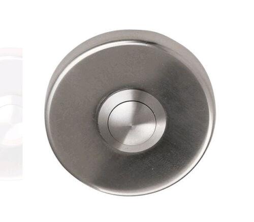 Allround C900210 50x8mm Danish Design Satin Stainless Steel Bell Push