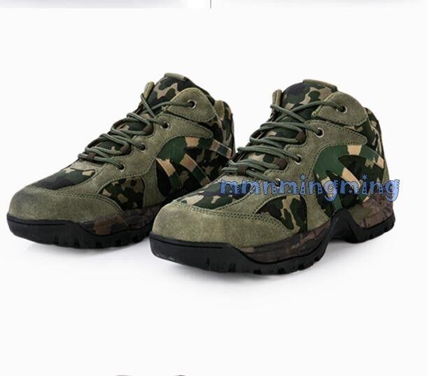 Män Lace up Sport Mililisary Mililisary Mililisary Jungle Desert skor Athletic Camouflage Casual  bästa försäljningen